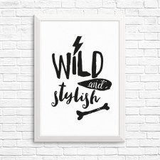 Wild and stylish!  A4