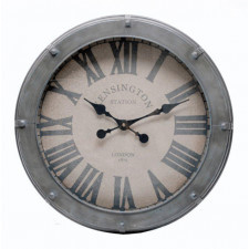 Zegar retro Station Clock metal 54cm (D943028)