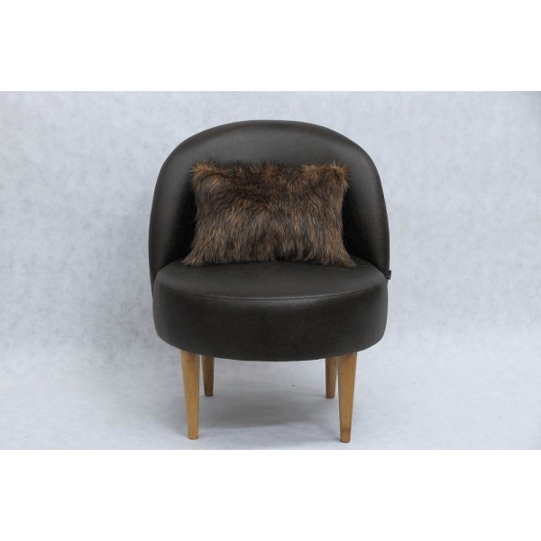 Fotel Scandi Vintage Brown