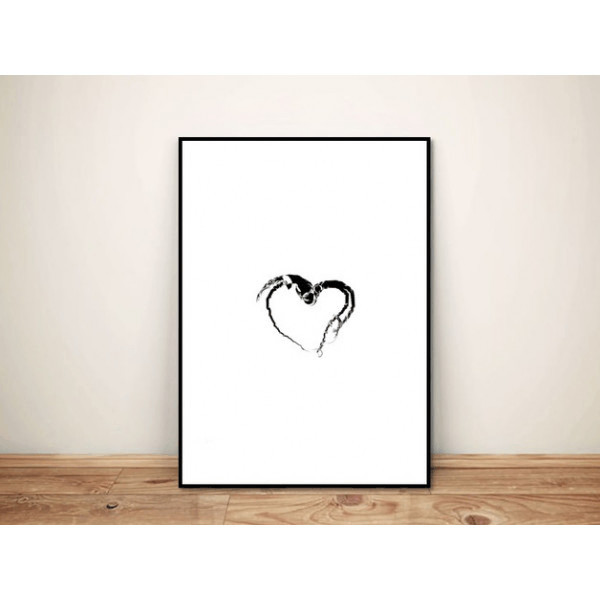 Plakat Small heart A4