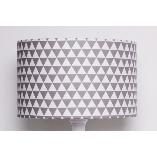 Abażur Little Triangles 40x40x25cm od majunto
