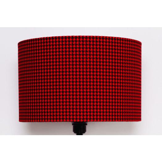 Abażur Pepitka RED 40x40x25cm od majunto