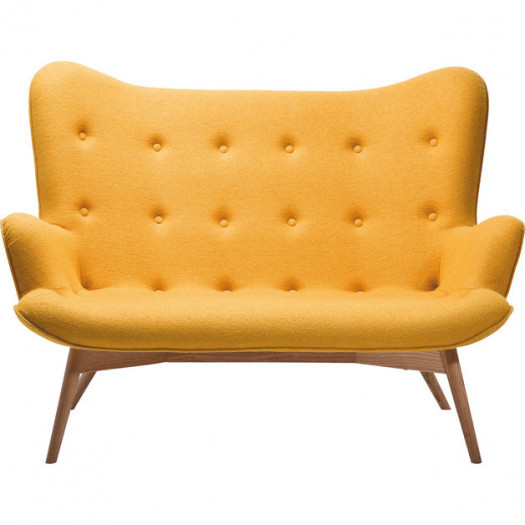 Sofa Angels Wings Yellow - 2 osobowa