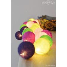 10 kul Uva Cotton Ball Lights