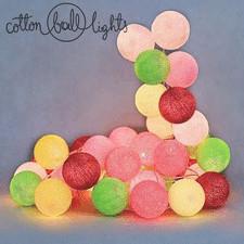 20 kul Candy Cotton Ball Lights