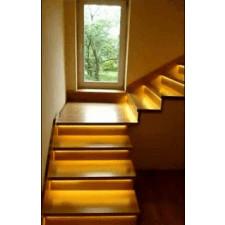 9 schodów - zestaw do oświetlenia schodów szerokość oświetlenia 30 cm