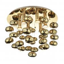 Azzardo az3072 luvia plafon lampa sufitowa 6xgu10 złoty