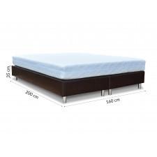 Baza do łóżka 160 cm tapicerowana