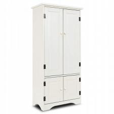 Biała szafka komoda w stylu klasycznym