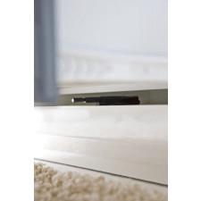 Biała szafka rtv z szufladami acelia