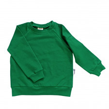 bluza dresowa zielona 116/122