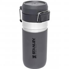 Butelka termiczna 100% szczelna, grafitowa 0,47 litra quick flip go stanley (10-09148-025)