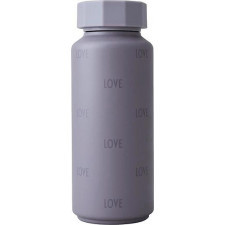 Butelka termiczna tone-on-tone love fioletowa