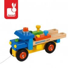Ciężarówka do składania drewniana duża