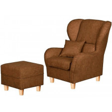 Cork fotel z pufą