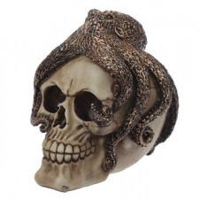 Czaszka cthulhu - figurka czaszki z ośmiornicą