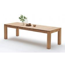 Dębowy stół na czterech nogach abel 160-230 dąb bianco