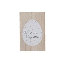 Dekoracja drewniana easter card