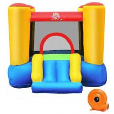 Dmuchany zamek trampolina ze zjeżdżalnią + dmuchawa