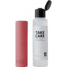Dozownik i płyn do dezynfekcji take care różany 2 el.