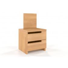 Drewniana szafka nocna bukowa visby bergman high