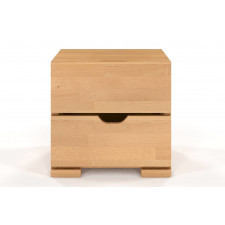 Drewniana szafka nocna bukowa visby salerno high