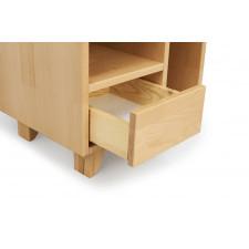 Drewniana szafka nocna bukowa visby viveca