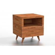 Drewniana szafka nocna dirk