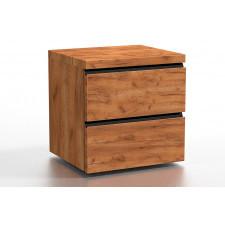 Drewniana szafka nocna gianis