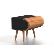 Drewniana szafka nocna luka