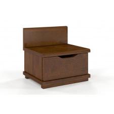 Drewniana szafka nocna sosnowa visby arhus 1s