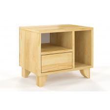Drewniana szafka nocna sosnowa visby viveca