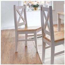 Drewniane krzesło barino 95 cm sosnowe