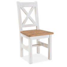 Drewniane krzesło poprad brąz miodowy / sosna patyna
