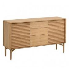Drewniany kredens lenon 152x86 cm dąb