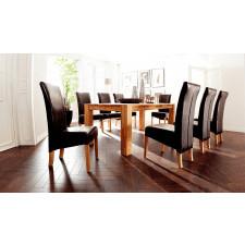 Drewniany stół do jadalni patrick dąb dziki rozkładany od 160 do 250 cm