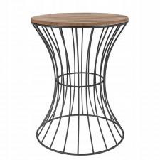 Druciany stolik kawowy stoliczek stół 40 cm