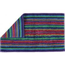 Dywanik łazienkowy stripes 70 x 120 cm kolorowy ciemny