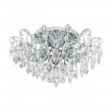 Eglo 39521 fenoullet 6x25w plafon chrom/kryształ
