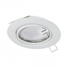 Eglo 94239 peneto 1x5w lampa do wbudowania biała