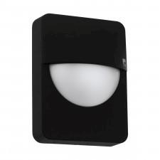 Eglo 98704 salvanesco 1x28w kinkiet zewnętrzny czarny/biały