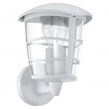 Eglo aloria 93094 kinkiet zewnętrzny industrialny oprawa ścienna 1x60w biały