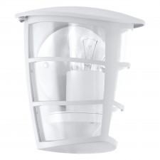 Eglo aloria 93403 kinkiet industrialny lampa elewacyjna ogrodowa 1x60w biały