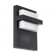 Eglo culpina 98088 lampa ścienna zewnętrzna kinkiet industrialny 1x10w led antracyt biały