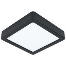 Eglo fueva 5 99243 lampa sufitowa plafon 1x10,5w led czarny