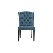 Elegancki fotel rudolf z pikowanym oparciem