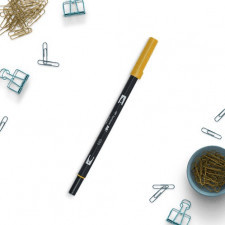 Flamaster brush pen abt-026, kolor yellow gold