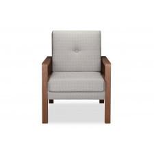 Fotel  krasse  (jasnoszary)