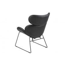 Fotel berlin czarny nowoczesny