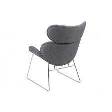 Fotel berlin szary nowoczesny